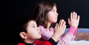 La oración en los niños